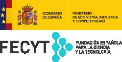 Gobierno de España. Ministerio de Economía y Competitividad. FECYT. Fundación para la Ciencia y la Tecnología.