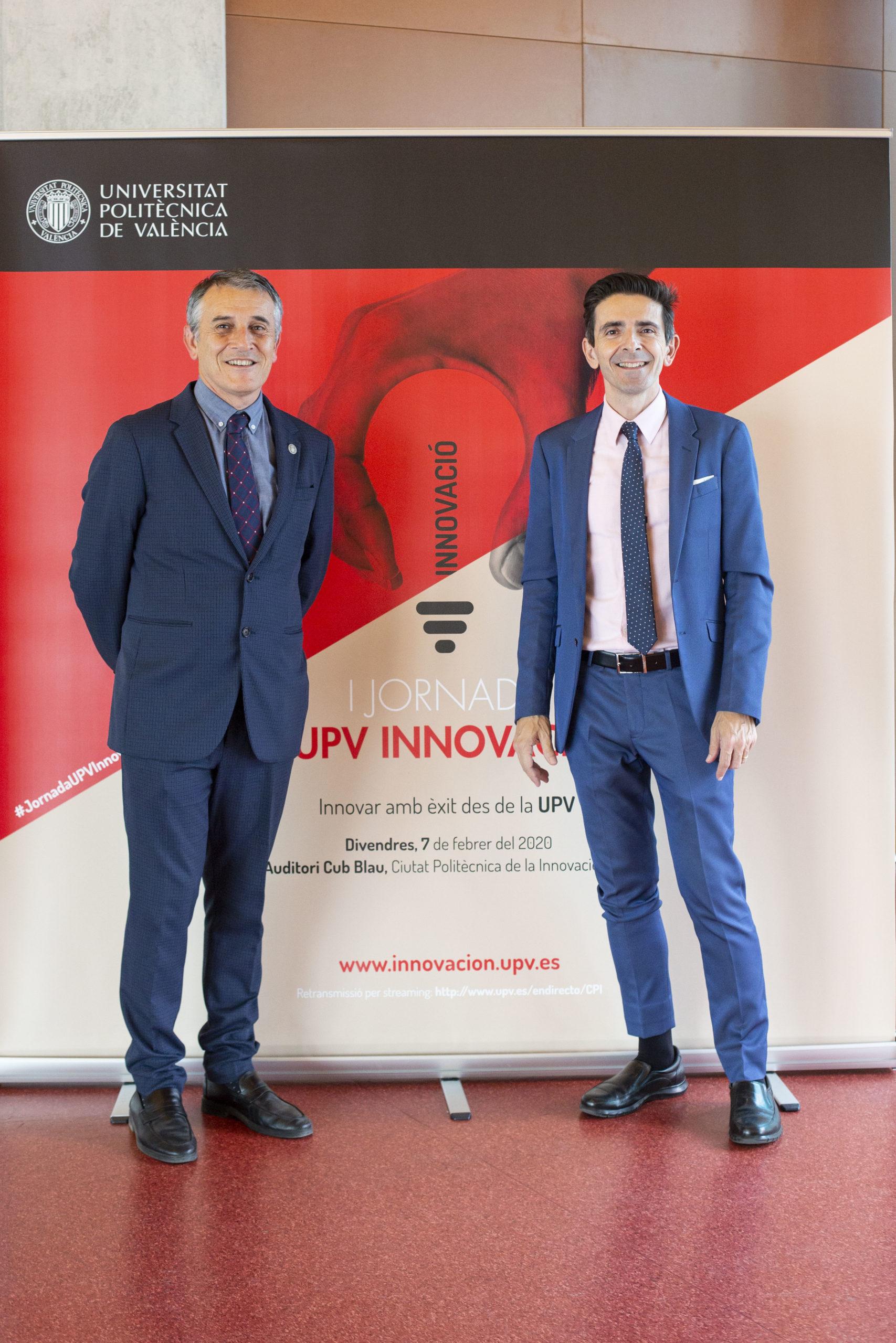 Fernando Conesa y Salvador Coll, I Jornada UPV Innovación (2020)