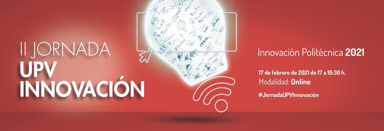 Banner II Jornada UPV Innovacion 2021
