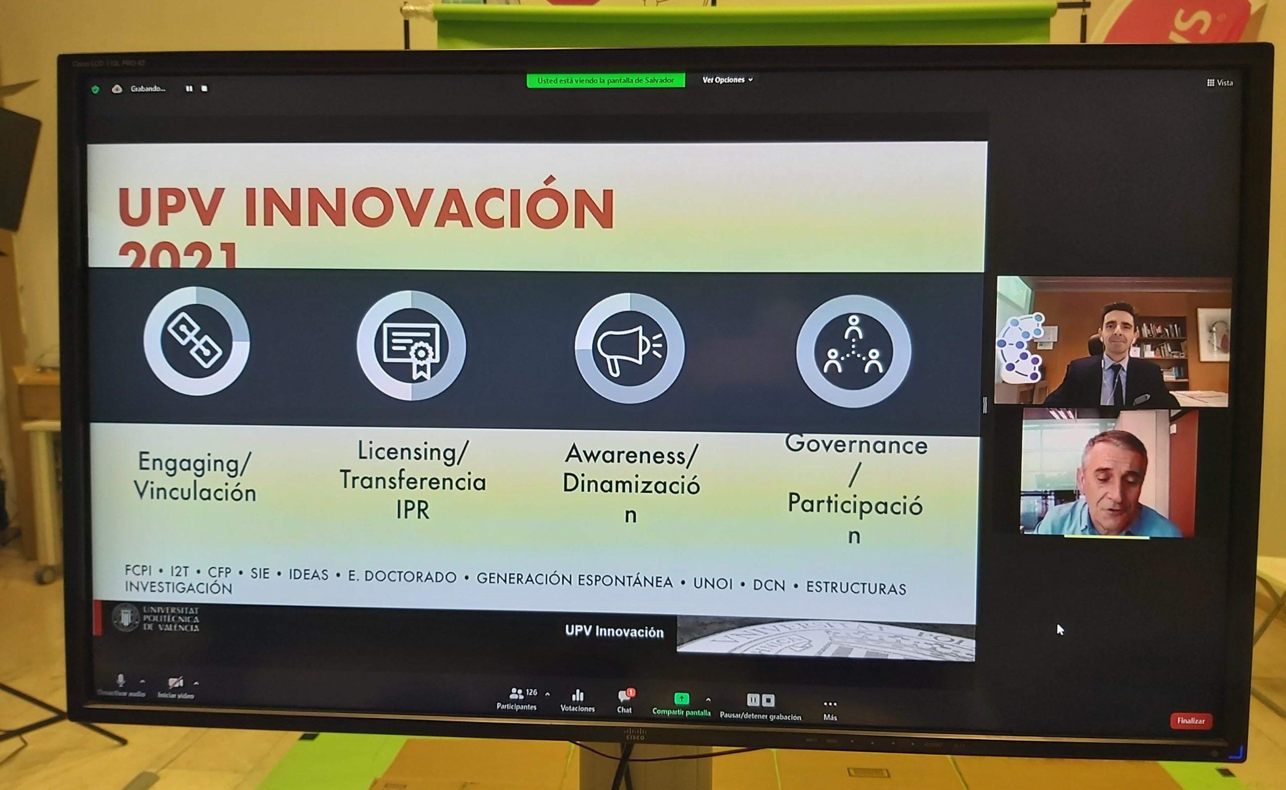 Presentacion UPV InnovaCION