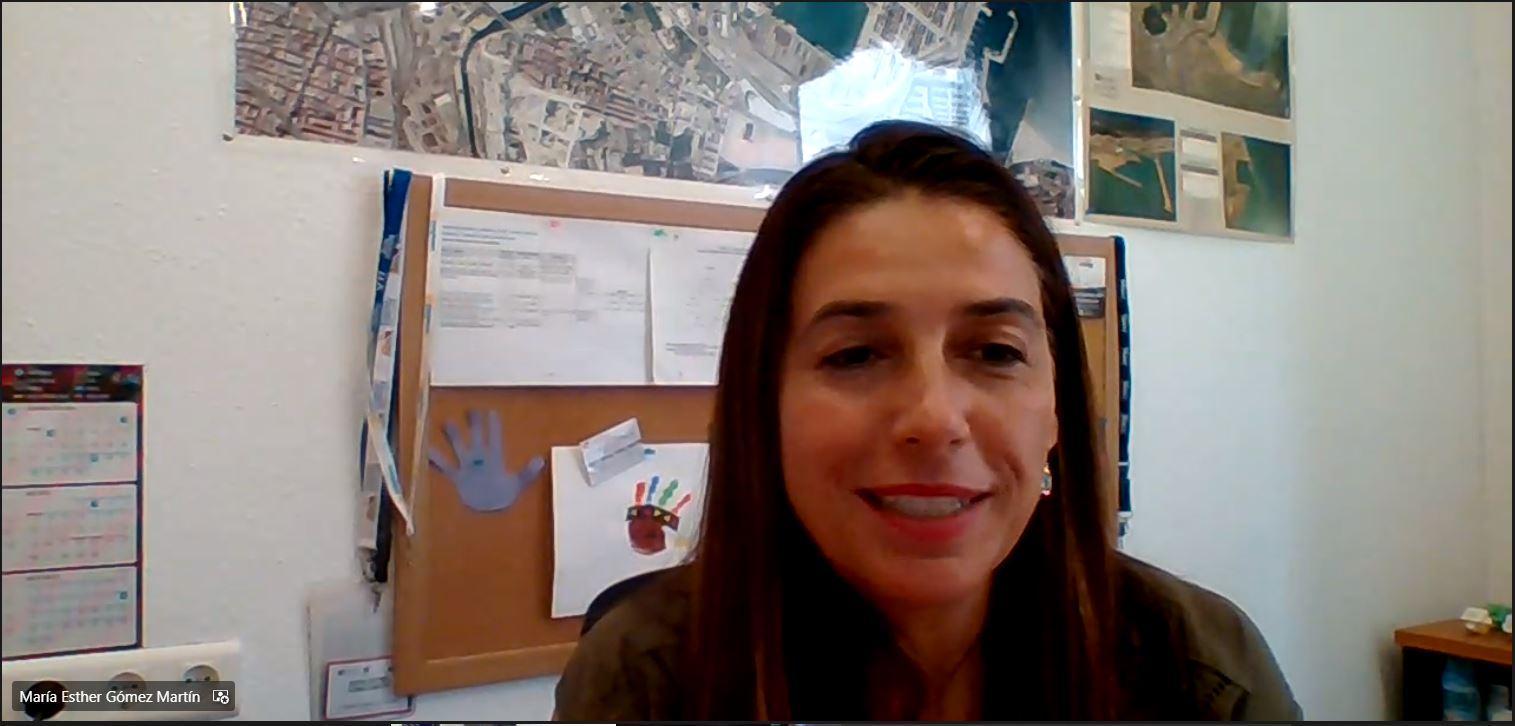 Vicerrectora Emprendimiento Esther Gomez