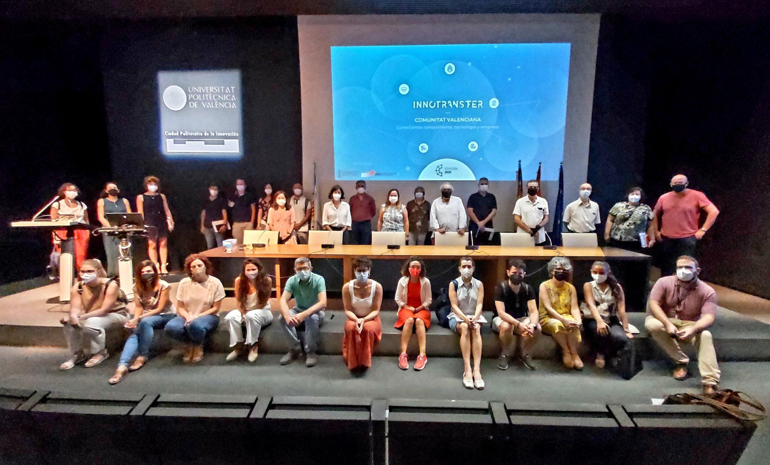 Clausura del taller en el auditorio del Cubo Azul de la Ciudad Politécnica de la Innovación | Imagen: R. Sanchis