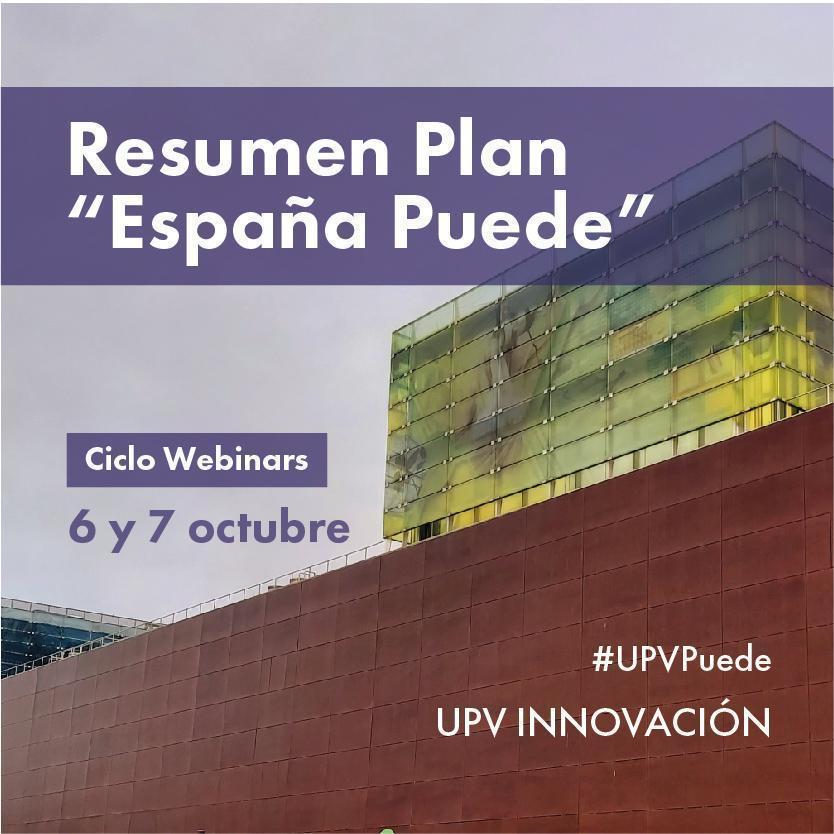 Ciclo Webinars UPV PUEDE