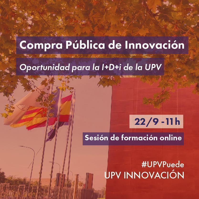 CPI: Oportunidades Financiación I+D+i UPV