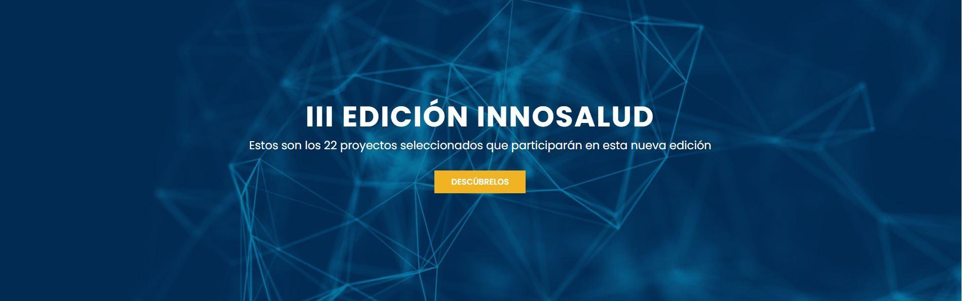 III Edicion INNOSALUD 22 proyectos